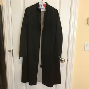 Marc Jacobs Collection Black Trench Coat - Vintage